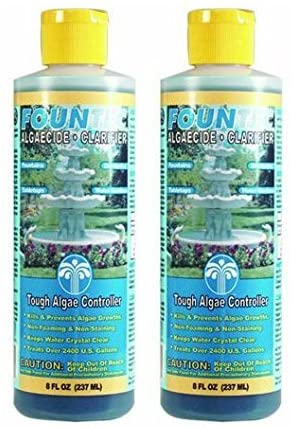 Fountains USA Free Gift EasyCare 2 PACK FounTec Algaecide and Clarifier - 8 oz