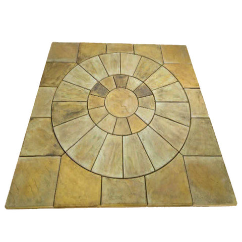 "Slate Style Fountain Foundation 88"" Square"