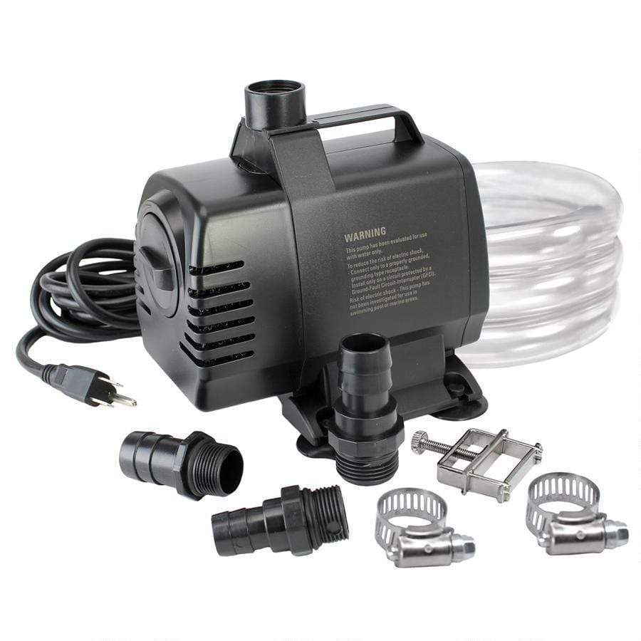 Design Toscano Outdoor Fountains UL-listed, indoor/outdoor, 1650 GPH Pump Kit- DR1650