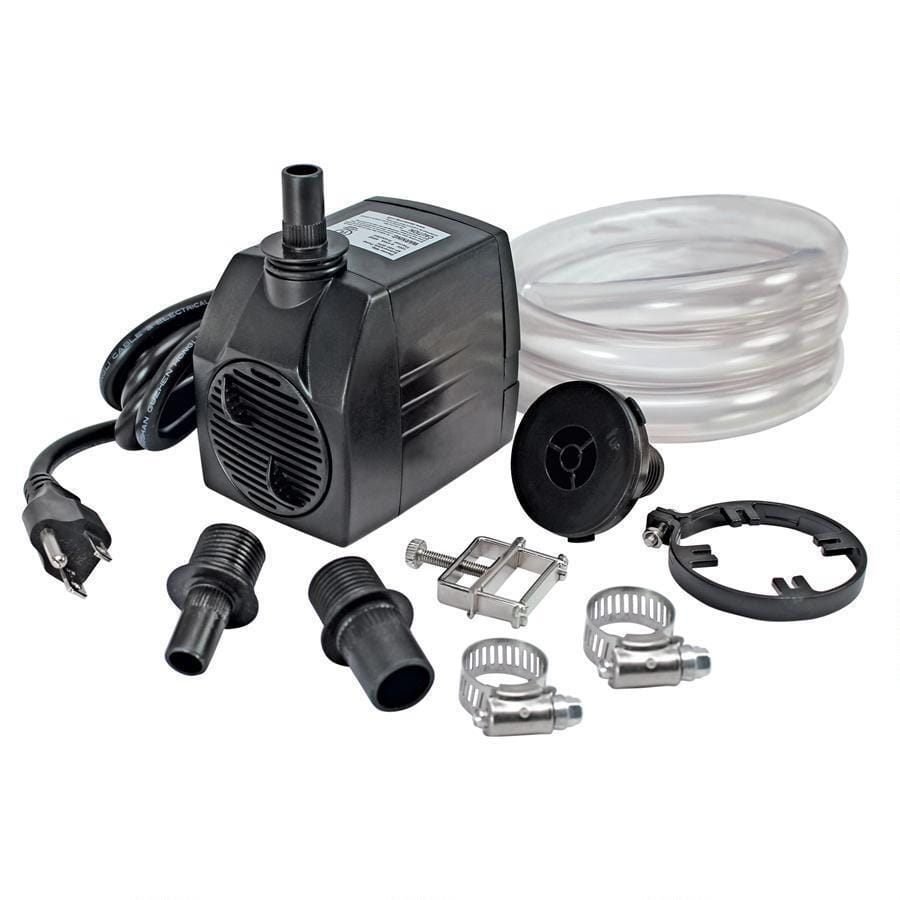 Design Toscano Outdoor Fountains UL-listed, indoor/outdoor, 400 GPH Pump Kit - DR400 Pump