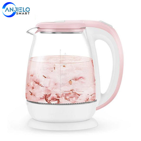 1.8L Glass Automatic Electric Water Kettle 1500W Water Heater Hot Boiling Tea Pot Kitchen Appliance Temperature Control