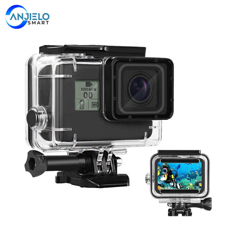 Waterproof Housing Case for GoPro Hero 7 Hero 5 Hero 6 Diving Cover Protective Housing Shell 45 Meter Underwater