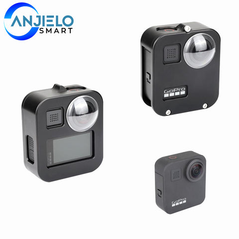 AnjieloSmart Housing Cover for Gopro Max Camera Protective Cage Case Dustproof Shell
