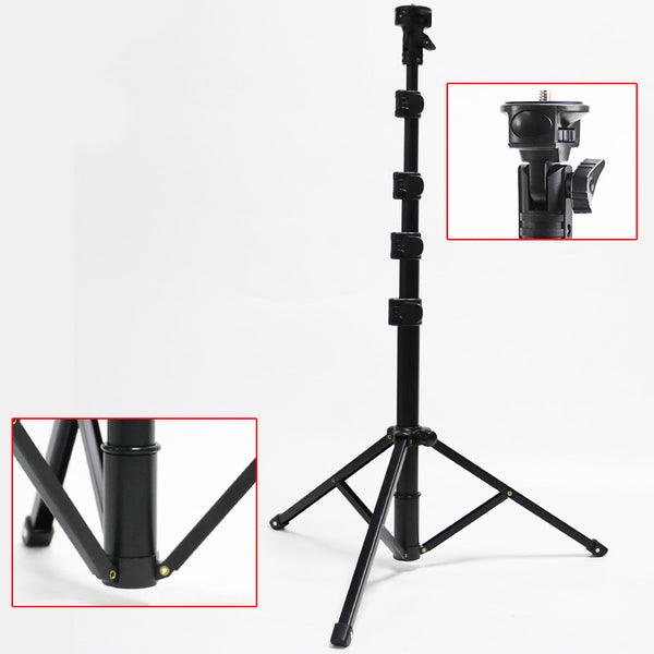 AnjieloSmart Selfie Stick Tripod 61'' Extendable Phone Holder Stand with Remote Shutter