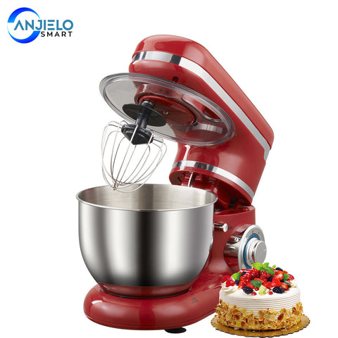 AnjieloSmart Electric Stand Mixer Food Mixer 1200W 3.52 QT 6 Variable Speed