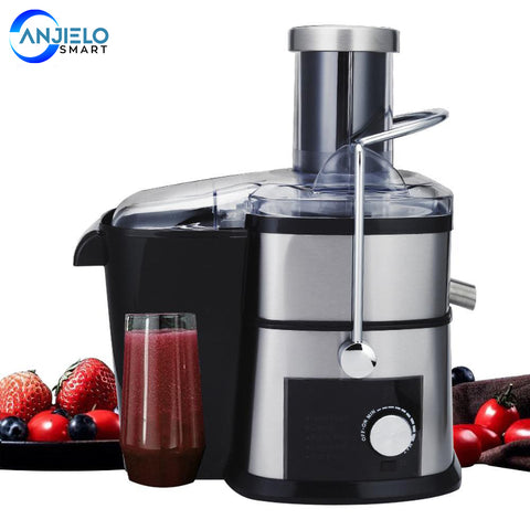 AnjieloSmart Electric Juicer Machine Multifunctional Orange Juice Extractor in Kitchen