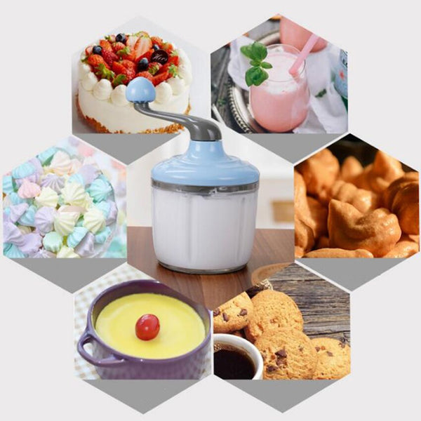 Anjielosmart Manual Blender Eco Friendly Mini Gadgets Cream Butter Mixer Egg Whisk Baking Supply Kitchen Hand Stirring Beater
