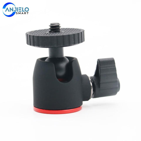Anjielosmart Mini Ball Head Tripod Head for 360 Swivel DSLR DV Camera Mini Tripod Ball head Aluminium Alloy