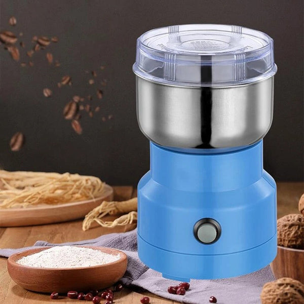 Anjielosmart Mini Coffee Grinder Machine Electric Multifunctional Coffee Bean Grinder Kitchen Cereals Nuts Beans Spices Grains