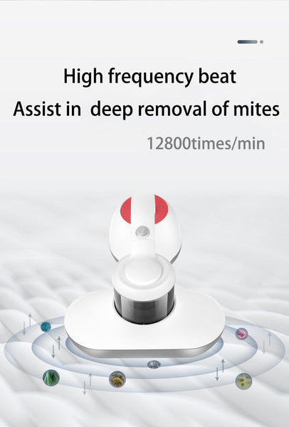 Anjielosmart Mite Removal Vacuum Vaccum Cleaner Mite Remover Bed Mattress Sofa Remove Mites Strong Suction Cleaner Instrument