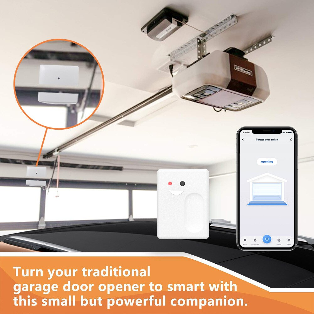Anjielosmart Wifi Remotely Control Existing Garage Door Opener With T Anjielo Smart Electronic Technology Co Ltd