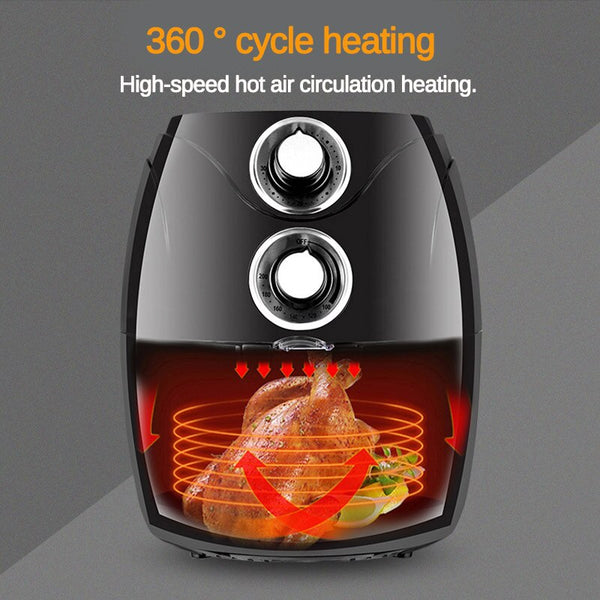Big Capacity Air Fryer Convenient Durable Multifunctional Household Automatic Smoke-Free Intelligent No Fuel Electric Fryer Oven