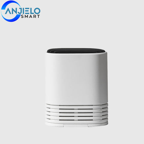 AnjieloSmart Home Mini Air Purifier Low Noise Portable Car Office Room Air Cleaner