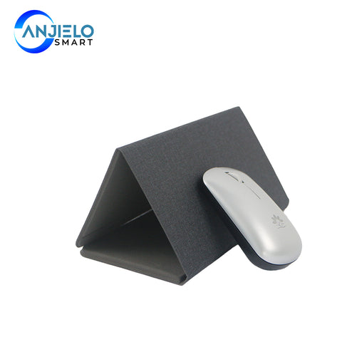 AnjieloSmart Wireless Charging Foldable Mouse Pad USB with Bluetooth Optical Mouse