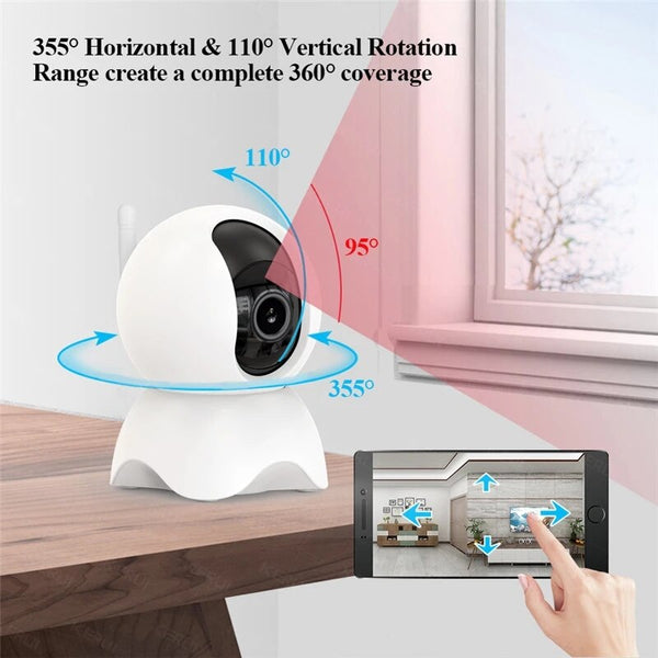 Indoor IP Camera WIFI Mini Baby Monitor Camera Video Surveillance Tuya Smart Camera