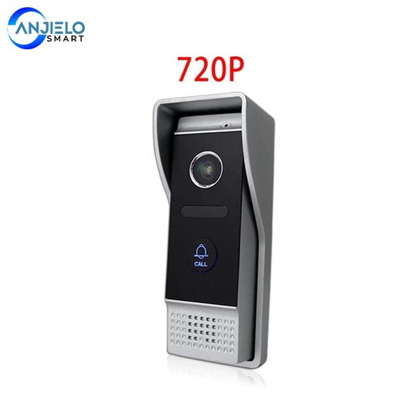 New Tuya Smart Mobile Phone APP Remote Control 7 inch WIFI Video Doorphone Intercom System For Home Security Night Vision Motion