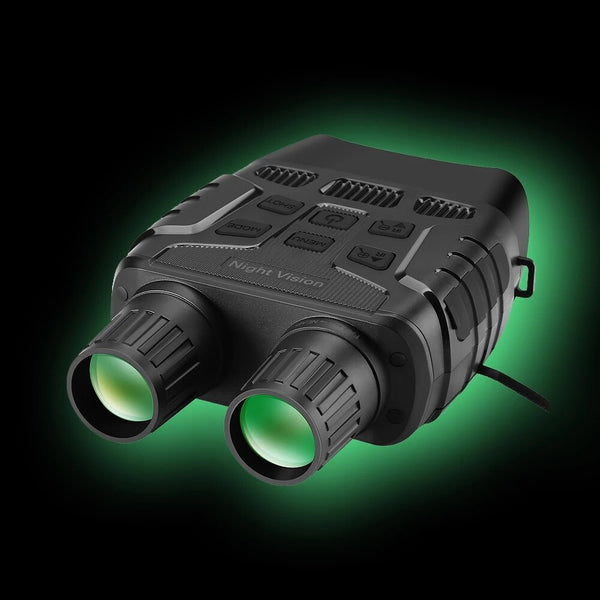 AnjieloSmart Night Vision Binoculars 300 Yards Digital IR Telescope Zoom Optics with 2.3' Screen