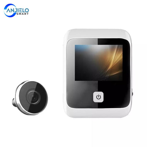 Peephole Doorbell Camera with 3.0 Inch Color Screen Electronic Doorbell LED Lights Video Door Viewer Video-eye Home Security