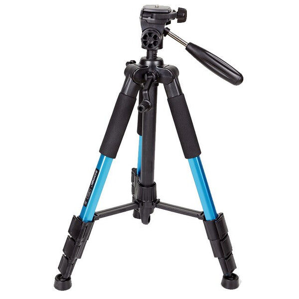 AnjieloSmart Professional Portable Travel Aluminium Camera Smartphone Tripod Accessories Stand with Pan Head for Digital Camera DSLR