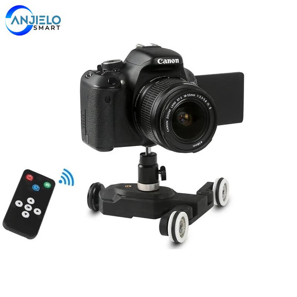 Wireless Remote Control Photography Car Electrinic Car Rail Track Slider Motoriz Speed Control for Smartphone Camera