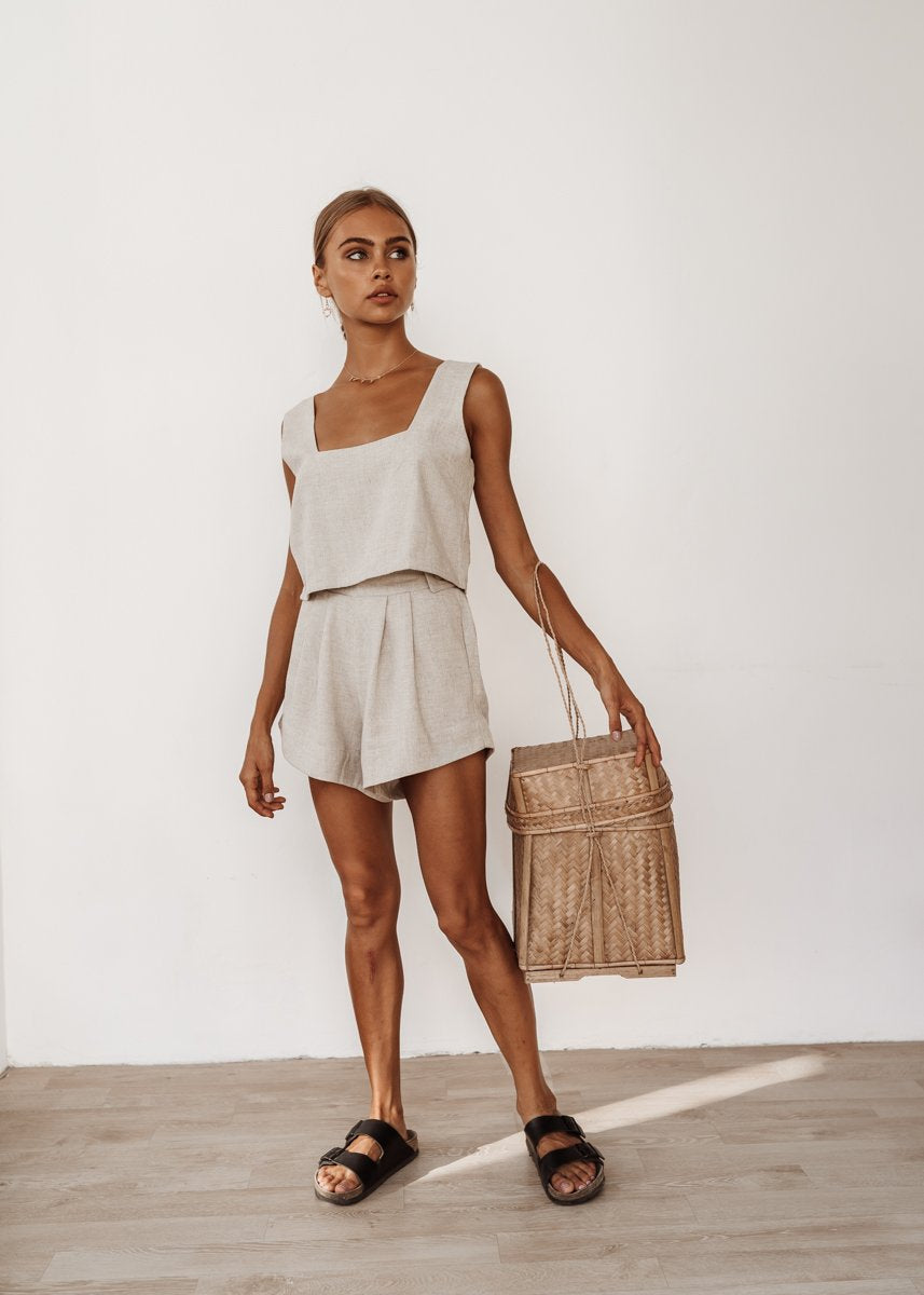 Roma Top and Florence Shorts