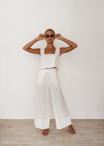 The Monaco Pants in Black and White