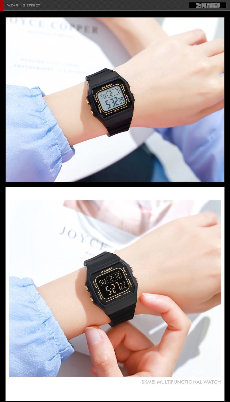SKMEI 1683 38mm Small Square Watch