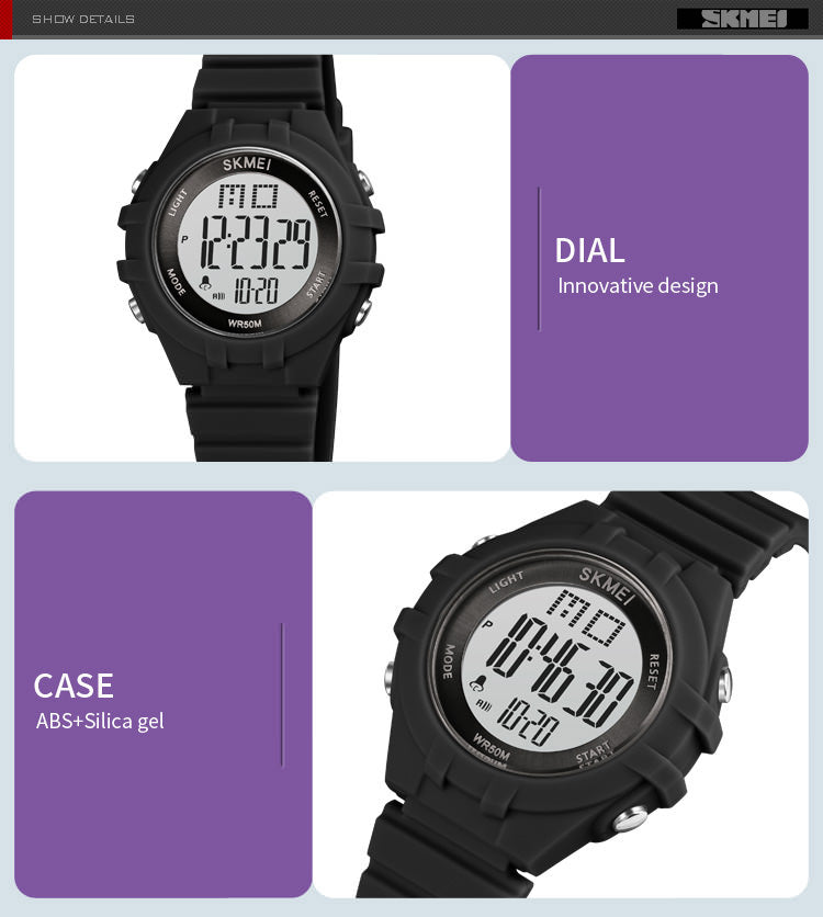 SKMEI 1716 Digital Kids Watches for Girls and Boys