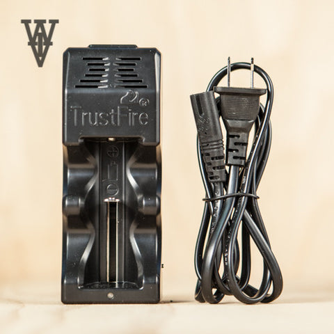 Trustfire TR-005 Single Slot Charger - Whole Vape Inc.