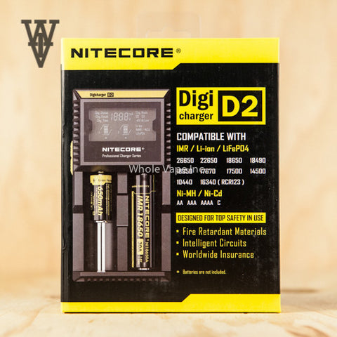 Nitecore Digicharger D2 Charger - Whole Vape Inc. - 1