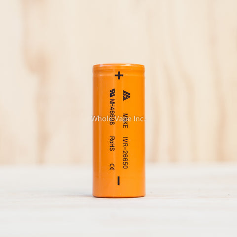 MNKE IMR 26650 3500mAh Battery - 20A/60A - Whole Vape Inc.