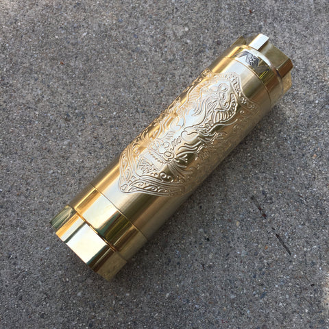 Brass Dragon Kane 20700 Mech Mod by Avid Lyfe
