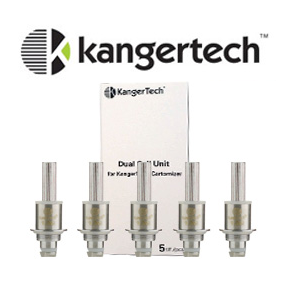 Kanger Upgraded Dual Coil Head for Aerotank Protank - Whole Vape Inc.