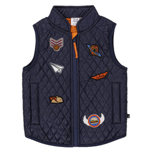 Sleeveless Quilted Vest Boy C20T51_481