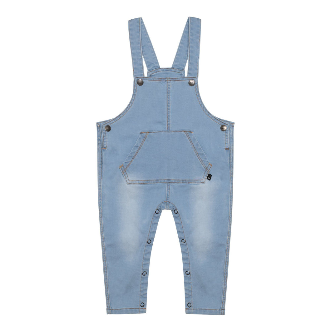 French Terry Denim Overall Unisex C30JJ42_123