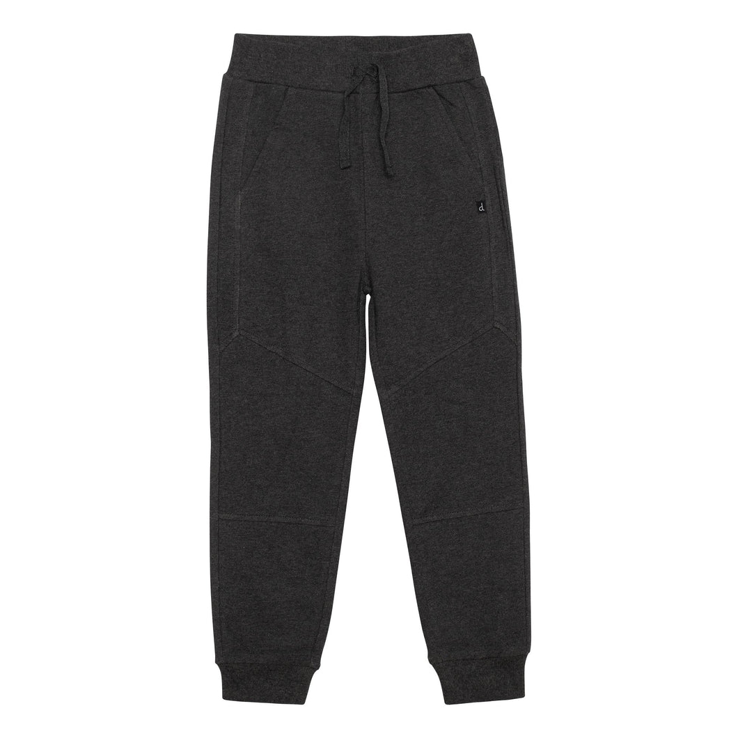 French Terry Jogger Pant in Charcoal Boy C30U20_197