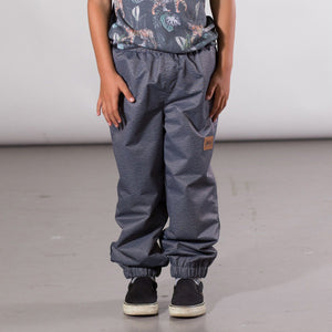 Elastic Waist Splash Pant in Dark Grey Unisex C30W35_001