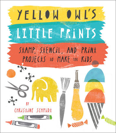 Yellow Owls Little Prints
