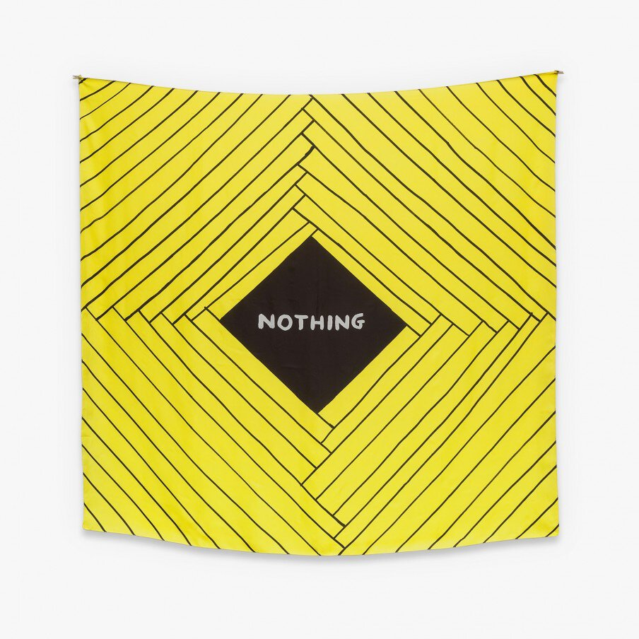 David Shrigley: Nothing Scarf