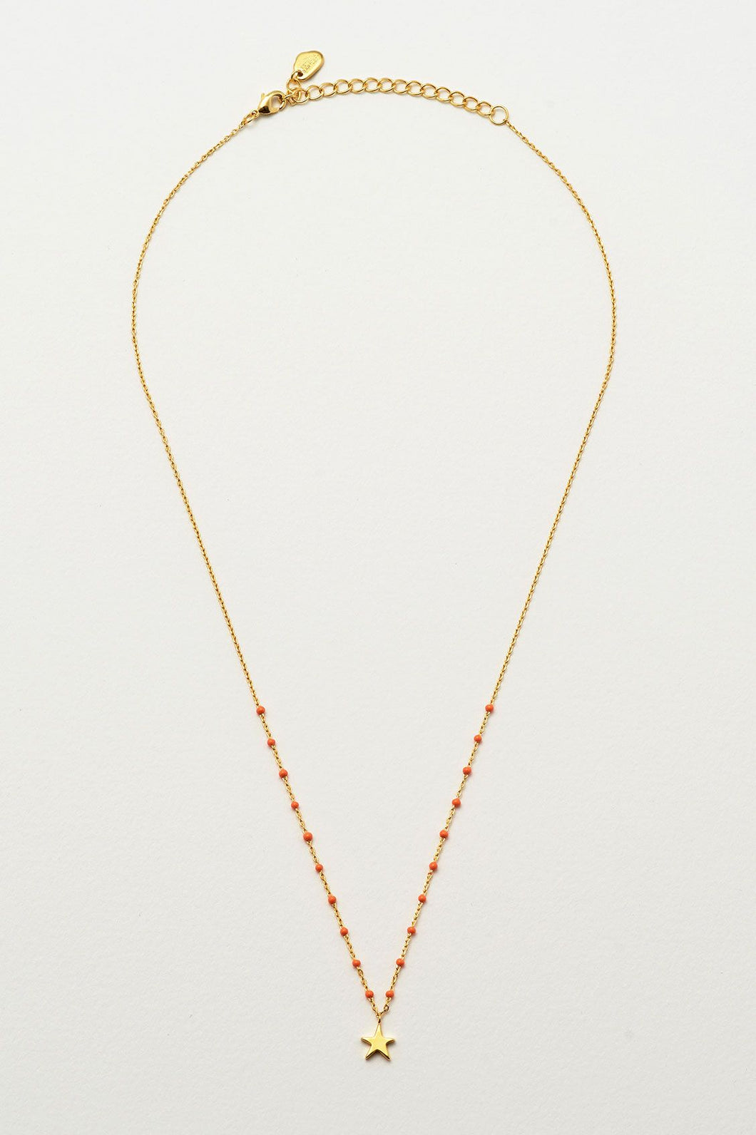 Estella Bartlett: Kusama Necklace Red