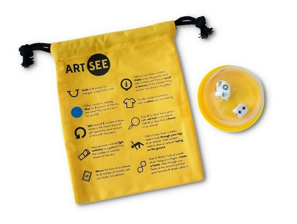 ART SEE Museum Experience Dice Game