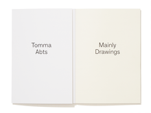 Load image into Gallery viewer, Tomma Abts: Mainly Drawings