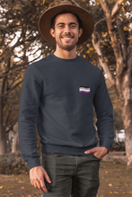 Load image into Gallery viewer, Unisex Asexual Flag Sweatshirt