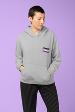 Load image into Gallery viewer, Unisex Asexual Flag Hoodie