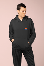 Load image into Gallery viewer, Rainbow Heart Hoodie