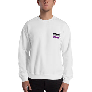 Unisex Asexual Flag Sweatshirt