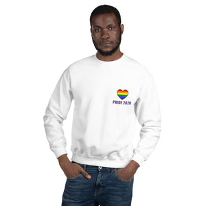 PRIDE 2020 - White Sweatshirt