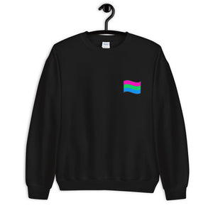 Unisex Polysexual Flag Sweatshirt