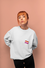 Load image into Gallery viewer, Unisex Lesbian Flag Sweatshirt