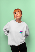 Load image into Gallery viewer, Unisex Polysexual Flag Sweatshirt